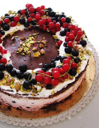 tort porzeczka pistacja