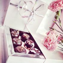 kompozycja czekoladki