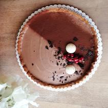 tarta mleczna czekolada sugar free